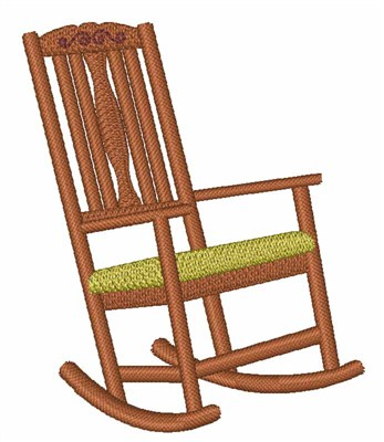 Rocking Chair embroidery design  sc 1 st  Embroidery Designs & Rocking Chair Embroidery Designs Machine Embroidery Designs at ...