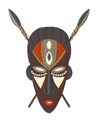African Mask Embroidery Designs Machine Embroidery Designs At