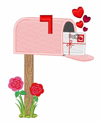 Valentine Mailbox Embroidery Designs Machine Embroidery Designs At