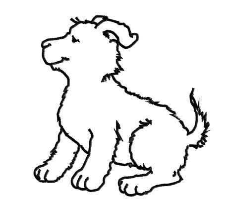 Dog Outline Embroidery Designs, Machine Embroidery Designs at ...