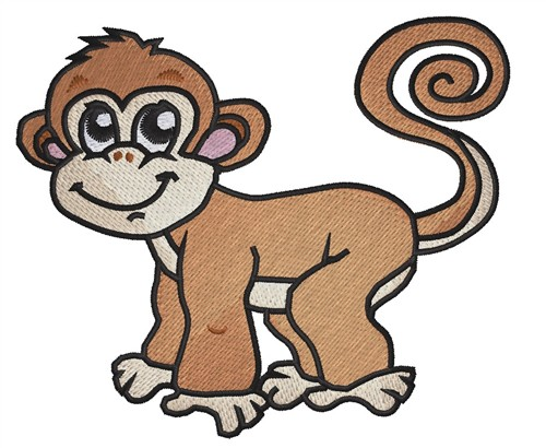 Cute Monkey Embroidery Designs Machine Embroidery Designs At