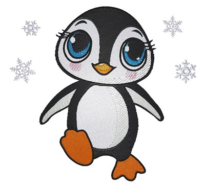 Free Penguin Machine Embroidery Designs