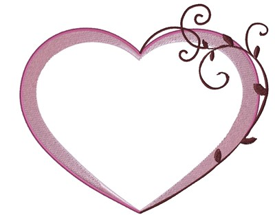 Heart Frame Embroidery Designs, Machine Embroidery Designs at ...