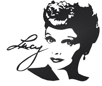 Download Lucille Ball Signature Embroidery Designs, Machine ...