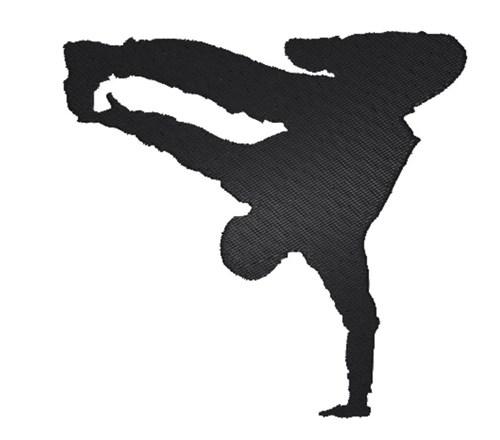 Hip Hop Dancer Silhouette Embroidery Designs Machine Embroidery Designs At Embroiderydesigns Com