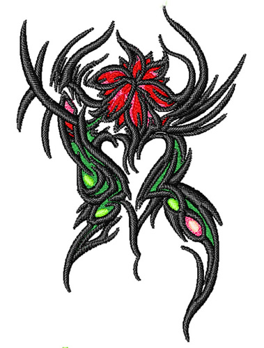 flower tattoo embroidery designs machine embroidery designs at. Black Bedroom Furniture Sets. Home Design Ideas