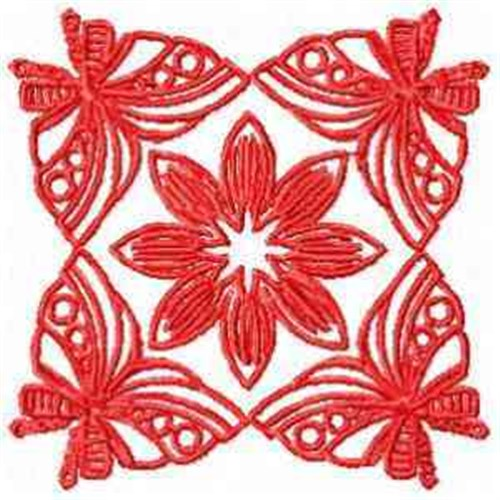 Red butterflies embroidery designs machine embroidery for Landmark design