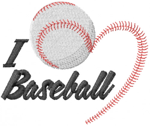 I Love Baseball Embroidery Designs Machine Embroidery Designs At