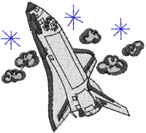 Space shuttle embroidery designs machine embroidery for Space embroidery patterns
