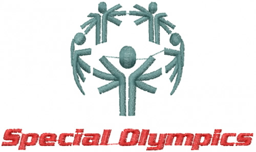 Special Olympics Embroidery Designs Machine Embroidery Designs At
