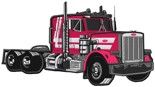 Semi Truck Applique Embroidery Designs Machine Embroidery Designs