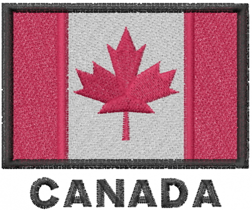Canada embroidery designs machine at