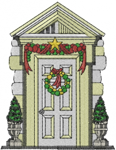 Front door embroidery designs machine embroidery designs for Door design machine