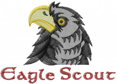 Eagle Scout Embroidery Designs