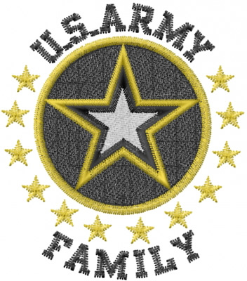 Us Army Family Embroidery Designs Machine Embroidery Designs At
