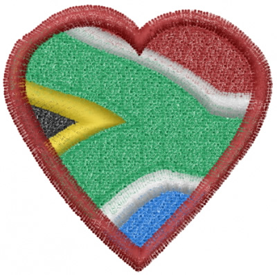 South Africa Heart Embroidery Designs Machine Embroidery