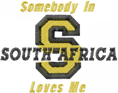 South Africa Love Embroidery Designs Machine Embroidery