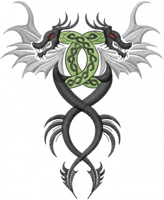 Dragon Tattoo Embroidery Designs Machine Embroidery Designs At