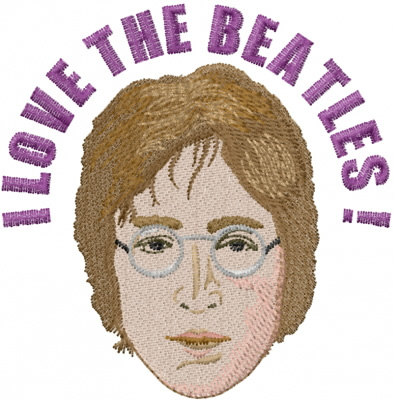 John Lennon Beatles Embroidery Designs Machine Embroidery Designs