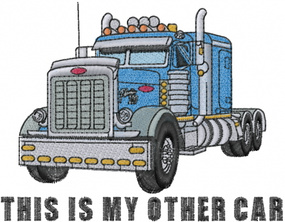 Peterbilt Truck Embroidery Designs Machine Embroidery