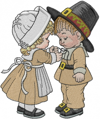 Thanksgiving Kids Embroidery Designs Machine Embroidery Designs At