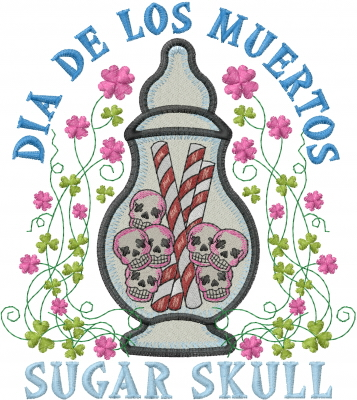 Sugar Skull Embroidery Designs Machine Embroidery Designs At