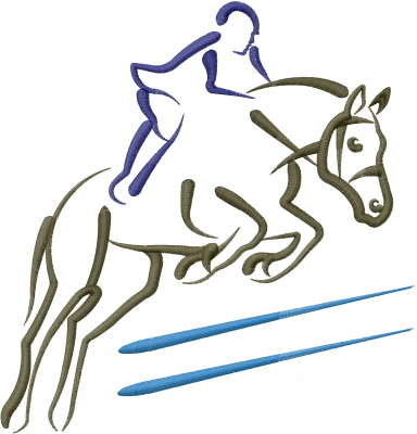 Horse Jumper Embroidery Designs Machine Embroidery ...