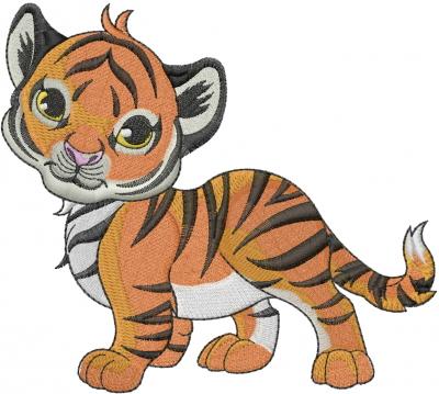tiger machine embroidery designs