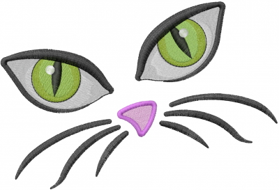 Cat Eyes Embroidery Designs Machine Embroidery Designs At