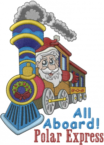 Polar Express Embroidery Designs Machine Embroidery Designs At