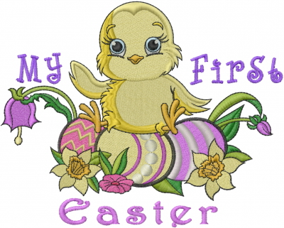 My First Easter Embroidery Designs Machine Embroidery Designs At