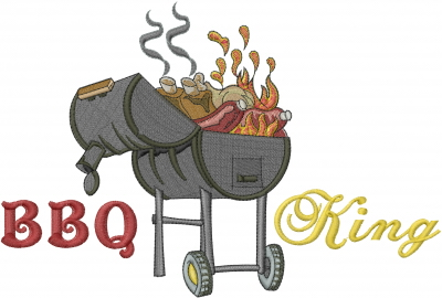 Bbq King Embroidery Designs Machine Embroidery Designs At