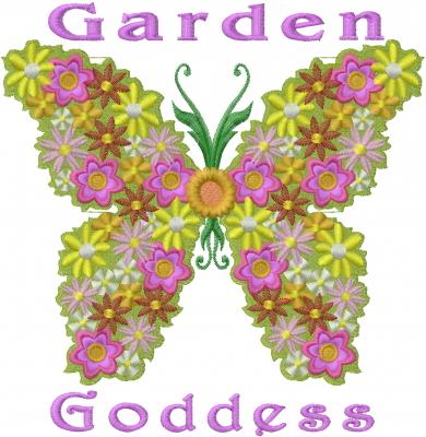 Garden goddess embroidery designs machine embroidery for Garden embroidery designs free