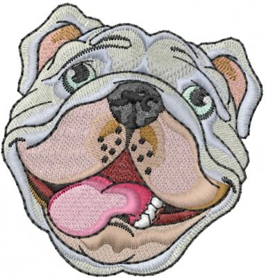 English Bulldog Embroidery Designs Machine Embroidery Designs At