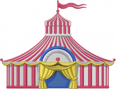 Circus Tent embroidery design  sc 1 st  Embroidery Designs & Circus Tent Embroidery Designs Machine Embroidery Designs at ...