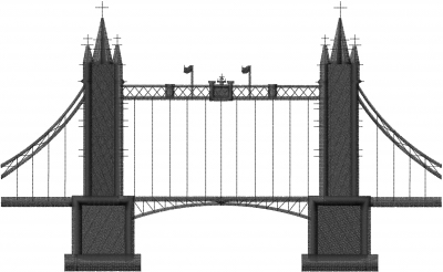 London bridge embroidery designs machine embroidery for Design bridge london