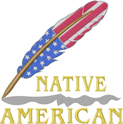 Native American Feather Embroidery Designs Machine Embroidery