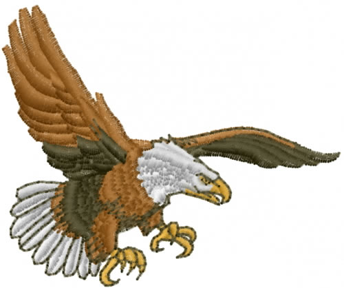 Free Machine Embroidery Designs Eagle