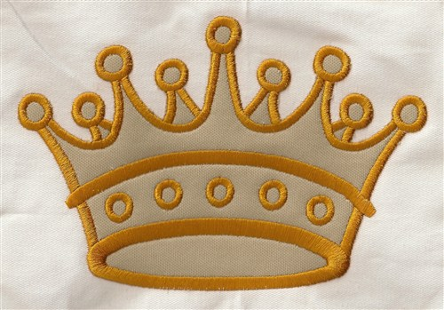 Crown applique embroidery designs machine embroidery designs at