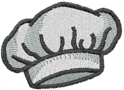 Free Chef Embroidery Designs