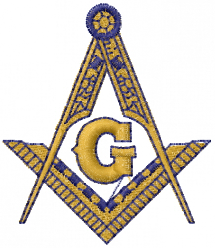 Masonic Emblem Embroidery Designs Machine Embroidery Designs At