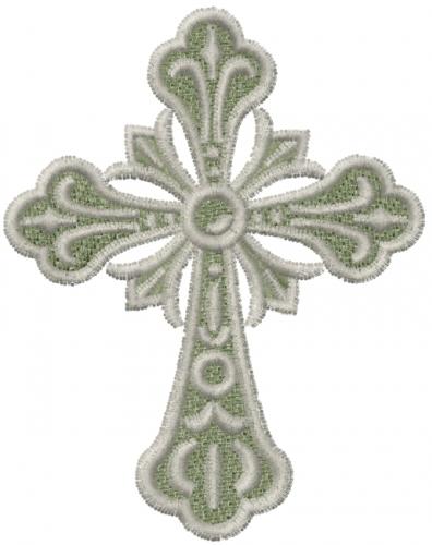 machine embroidery cross designs
