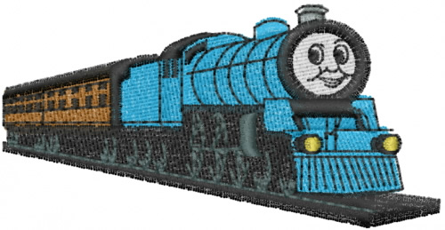 Thomas The Tank Engine Embroidery Designs Machine Embroidery