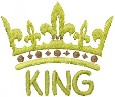 King Crown Embroidery Designs Machine Embroidery Designs At