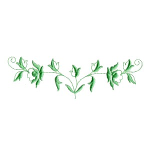 Rose Vine Border Embroidery Designs Machine Embroidery Designs At