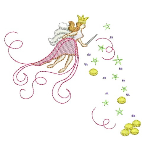 Free Fairy Machine Embroidery Designs