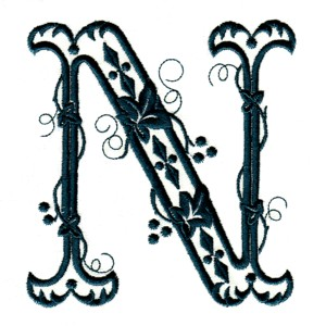 Victorian Vines N Embroidery Designs Machine At