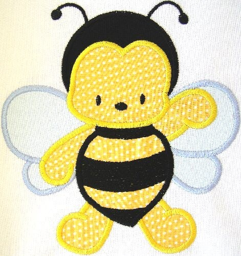 Appliqu Bumble Bee Embroidery Designs Machine Embroidery Designs