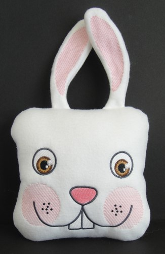 Easter Bunny Pillow Embroidery Designs Machine Embroidery Designs