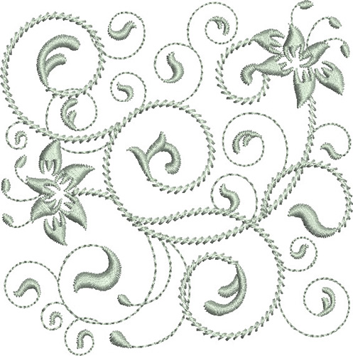 Rhapsody In Silver Embroidery Designs Machine Embroidery Designs At